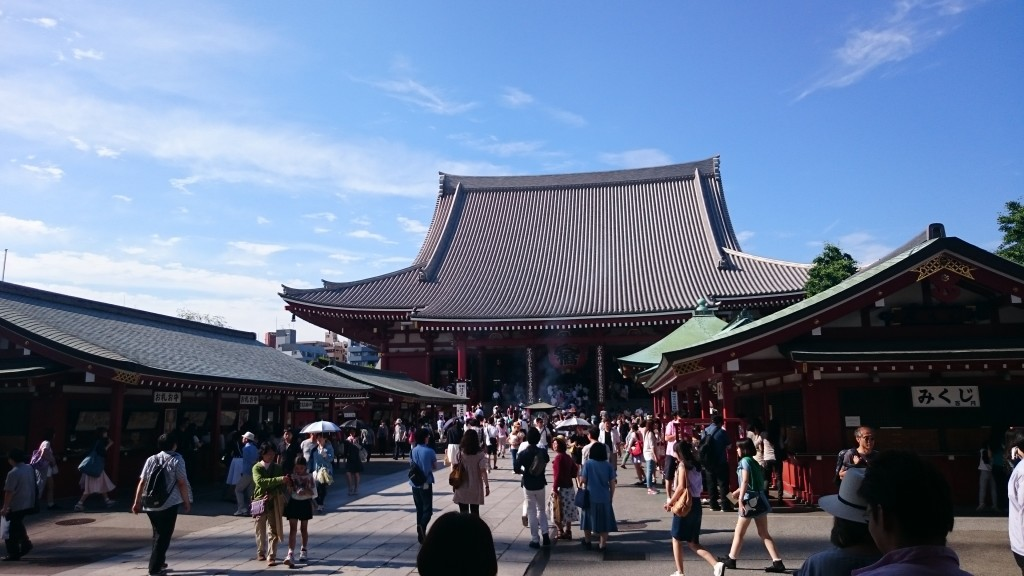 L'un des plus gros temple de Tokyo (si ce n'est le plus grand...)